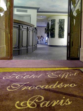 Hotel Eiffel Trocadero : Entrance