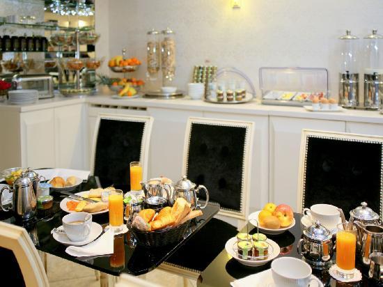 Hotel Eiffel Trocadero : Breakfast
