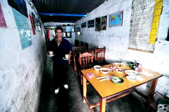 D.B. Momo : Mr Bal Ram Thapa, the owner