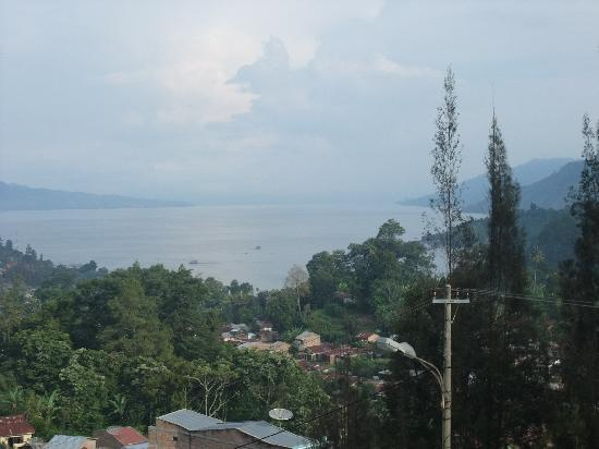 Parapat, Indonesia: View from the hotel