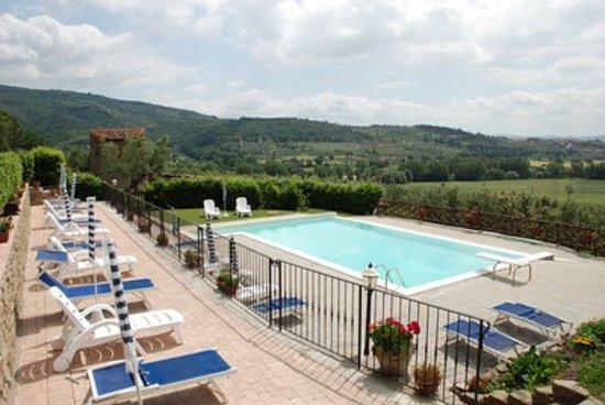 Borgo Sanguineto: La piscina