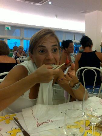Hotel Nives: se siete amanti della buona cucina romagnola gusterete la famosa piadina!!