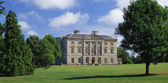 Downpatrick, UK : Castle Ward Mansion