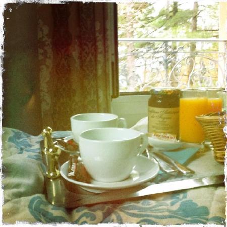 Hotel U Castellu : petit déjeuner