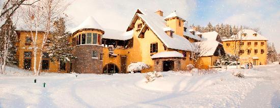 Skaneateles, Νέα Υόρκη: Mirbeau Inn & Spa in the winter