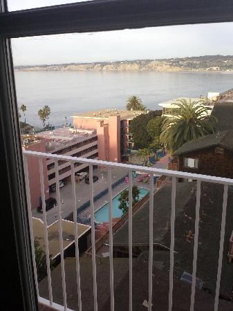 La Valencia Hotel: From my window view