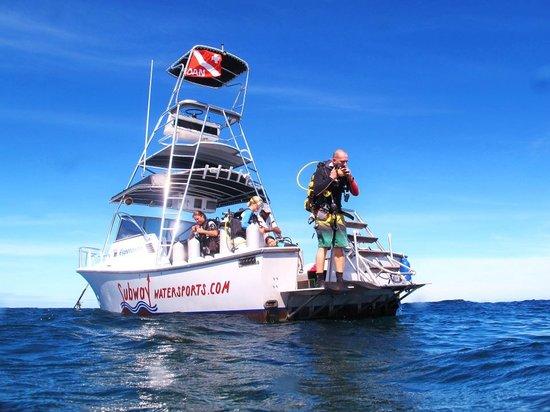 Subway Watersports: Dive boat Esperanza