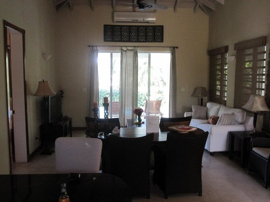 Meads Bay Beach Villas: Living Room Villa 4
