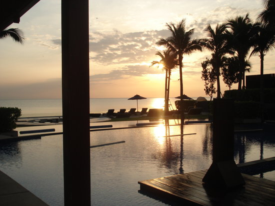 InterContinental Hua Hin Resort: gorgeous sunrise
