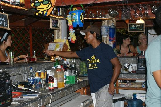 Aloha Surf Cafe Cabarete: Juan Carlos, always a smile!