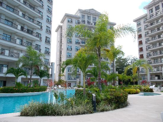 Jaco Bay Resort Condominium: Pool area