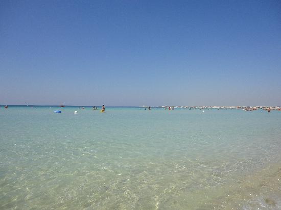 Lido Bacino Grande : Il mare davanti al lido