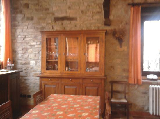 Cessole, Italie : sala colazioni
