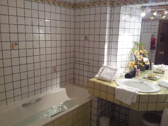 Hostellerie de la Pommeraie: Bathroom