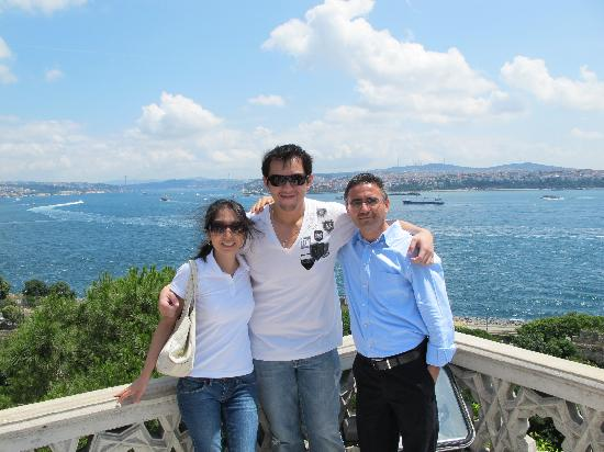 Luxury Istanbul Day Tours: Me, my wife and Ugur (our personal guide)