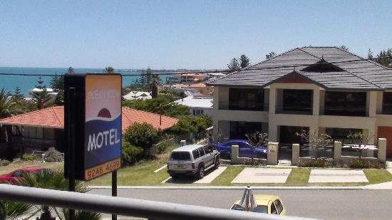 Ocean View Motel : view from room 9 balcony