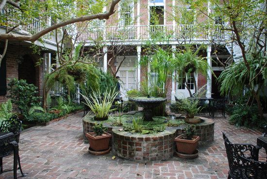 courtyard picture of place d 39 armes hotel new orleans tripadvisor. Black Bedroom Furniture Sets. Home Design Ideas