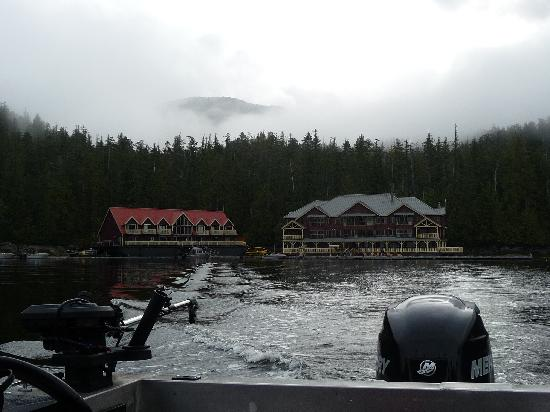 King Pacific Lodge: Off  for adventure
