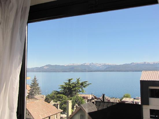 NH Bariloche Edelweiss: View of lake from room 502.