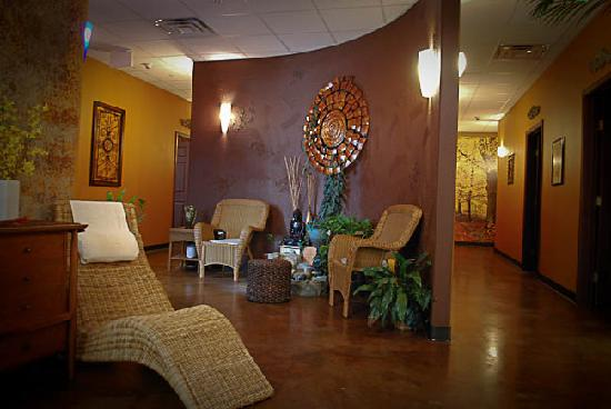 Relaxation lounge Picture of Destiny Day Spa & Salon Bossier