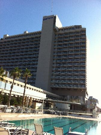 Hilton Tel Aviv: The Hotel From the Pool