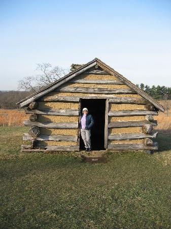 Valley Forge National Historical Park: Cabane de soldat