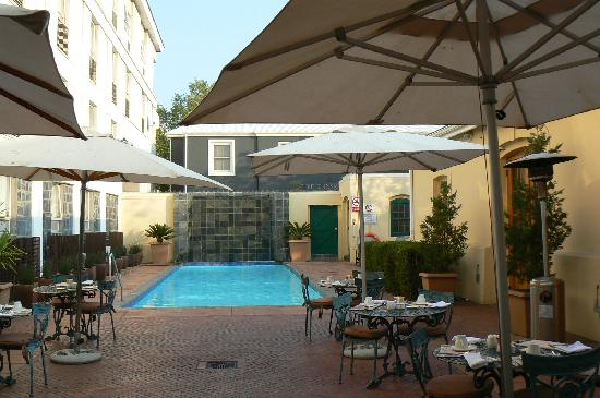 The PortsWood: Pool & outdoor patio area