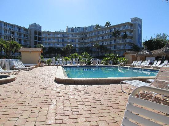Howard Johnson Resort Hotel - ST. Pete Beach FL : Pool with the next door hotel