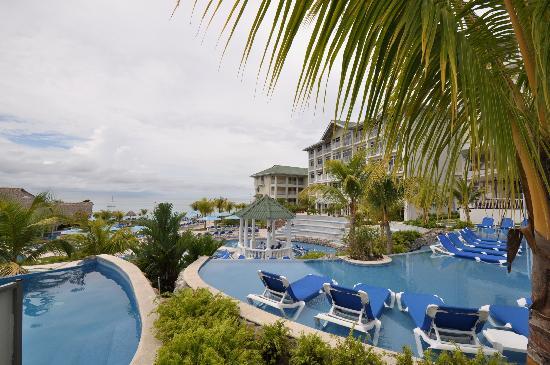 Sheraton Bijao Beach Resort : View from the restaurant