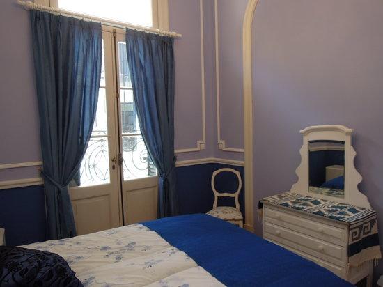 Petit Hotel El Vitraux : Azul