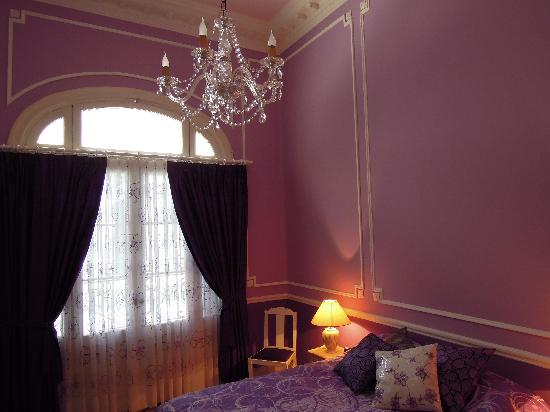 Petit Hotel El Vitraux : Violeta