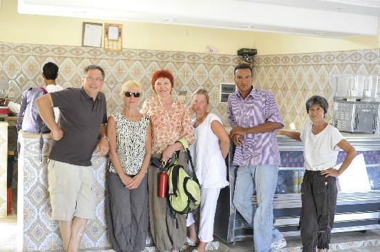 Zaafrane, Tunisia: L'équipe avant le retour !