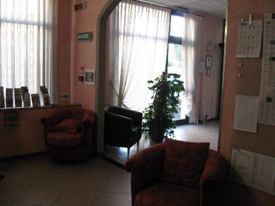 Diva Hotel: reception