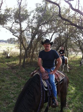 Texas Trail Riding Co.: Mike, Our Guide