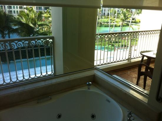 Iberostar Grand Hotel Bavaro: view from jacuzzi on 3rd floor
