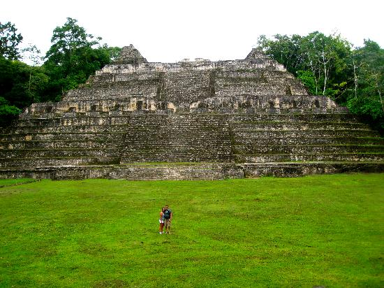 Belize Magnificent Mayan Tours: Caana, the highest structure in Caracol (141 ft)