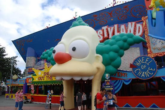 Universal Orlando Resort: 結構怖かった