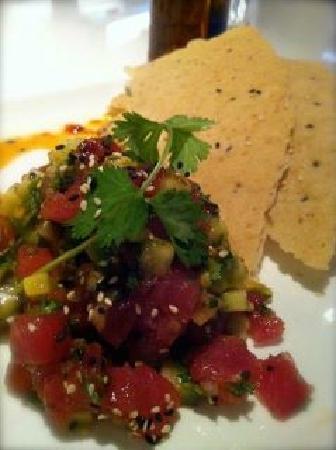 Bol Restaurant: Spicy Tuna Tartar appetizer. Best one ever. We loved it.