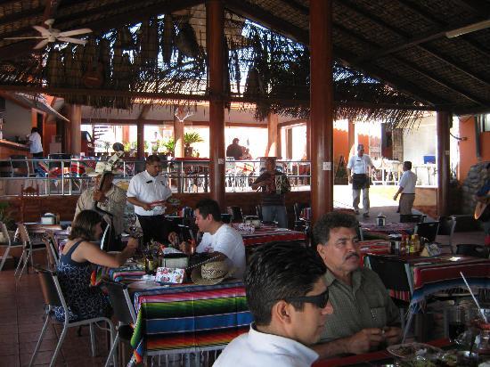 Playa Brujas: In the Restaurant