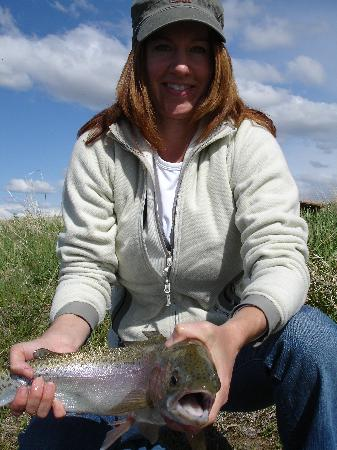 Grey Cliffs Ranch: Big Fat Trout Smile