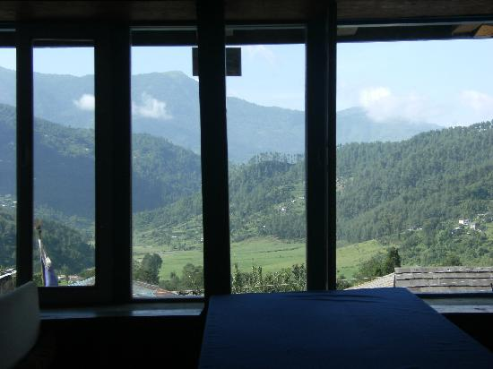 Jiri, Nepal: View from Dining Room