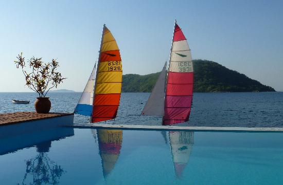 Danforth Yachting: We took this photo - it's not a postcard, honest!