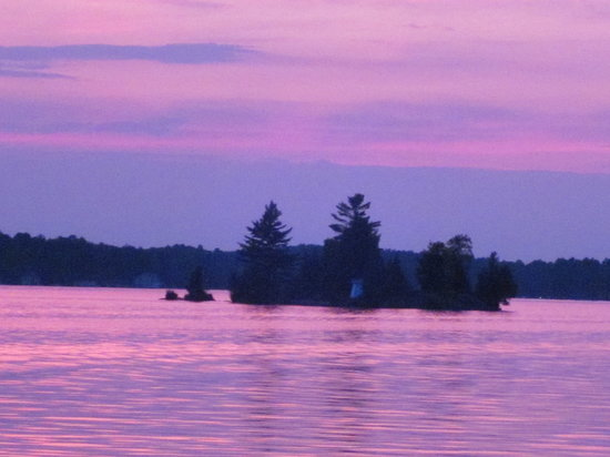 Gravenhurst, Καναδάς: Muskoka Wharf Sunset August 2011