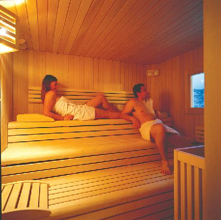 Hotel Ramon: Sauna