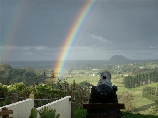 Aavalina Hills B&B: even good on a rainy day