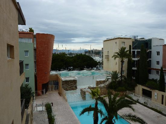 Pierre & Vacances Premium Residence Port Prestige: View from your balconney App 408