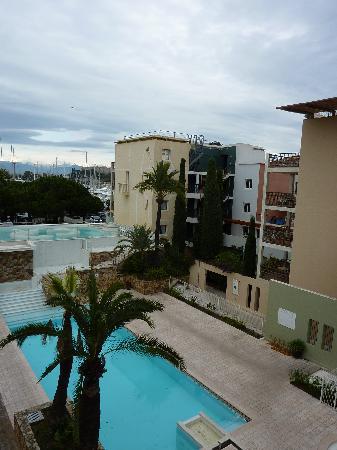 Pierre & Vacances Premium Residence Port Prestige: View from your balconney App 408 .