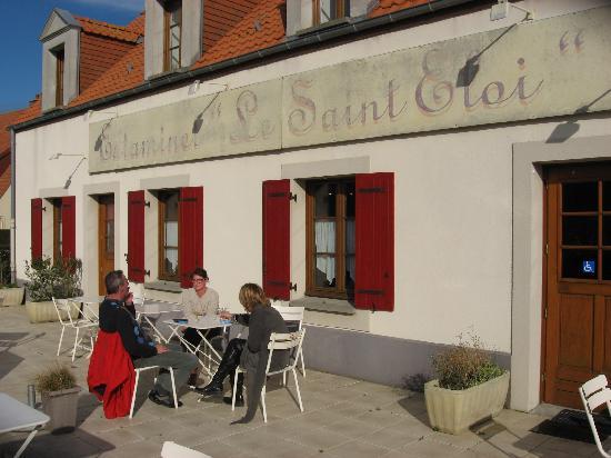 Estaminet le Saint Eloi: terrasse