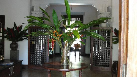 Galle Fort Hotel Restaurant: Interior