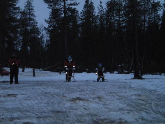 Hotel Kieppi: Snow gliding